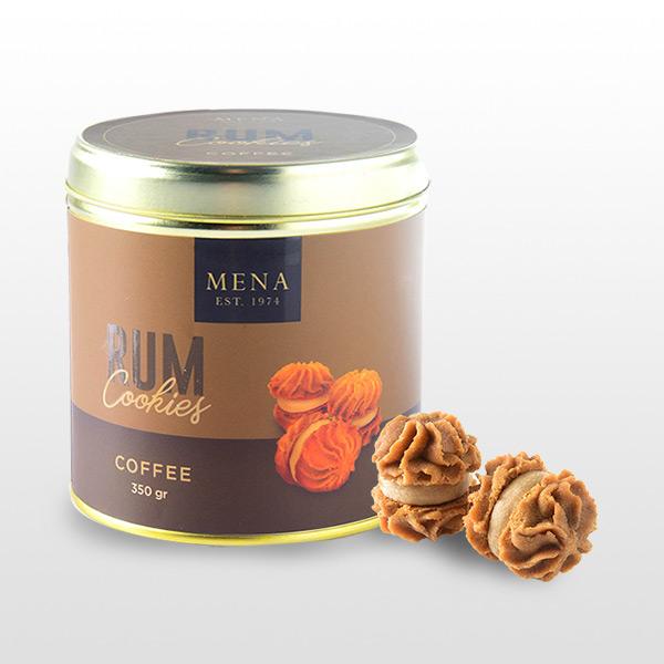 Rum Cookies Coffee - Mena Cookies